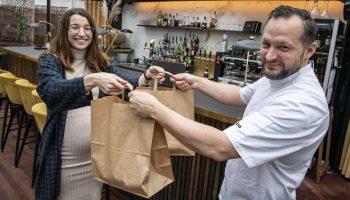 CSR Aarhus donere 150 måltider til sundhedspersonale